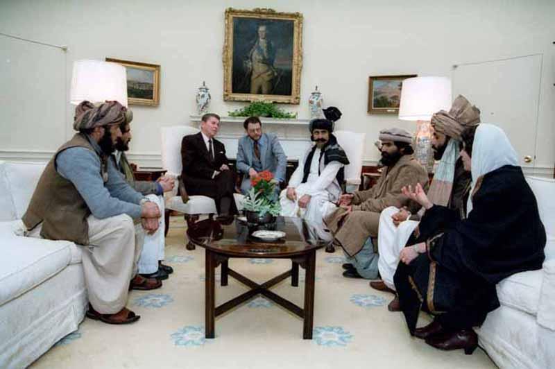 Faces Afghanistan Mujahideen