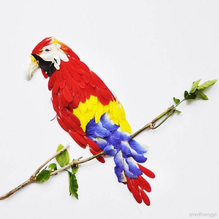 Flower Birds 2
