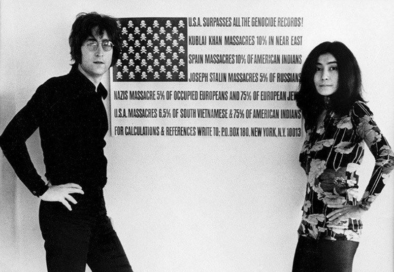 Grounding Idols Lennon Flag