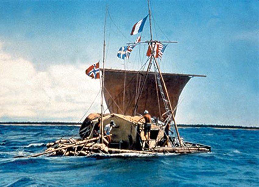 Human Endurance Feats Thor Raft