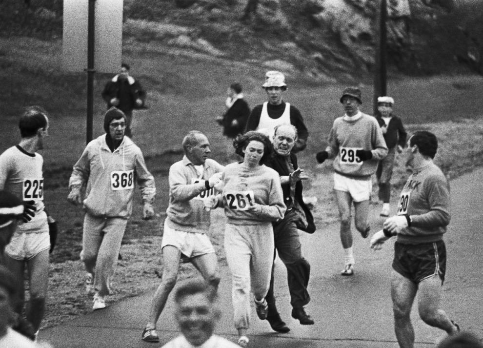 Kathrine Switzer 1967 Boston Marathon