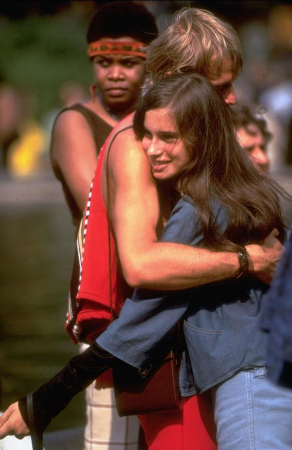 Hug In 1969 In New York