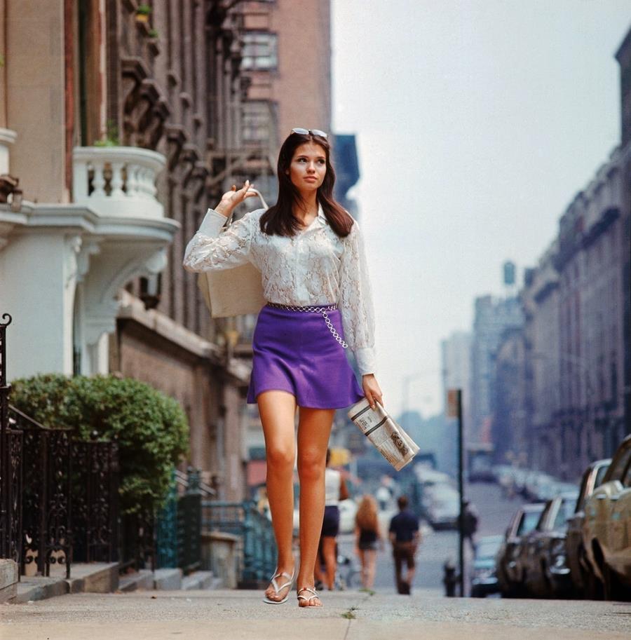 A Model In New York In 1969