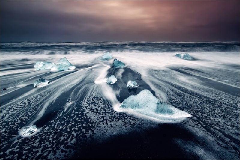 Turquoise Icebergs 2