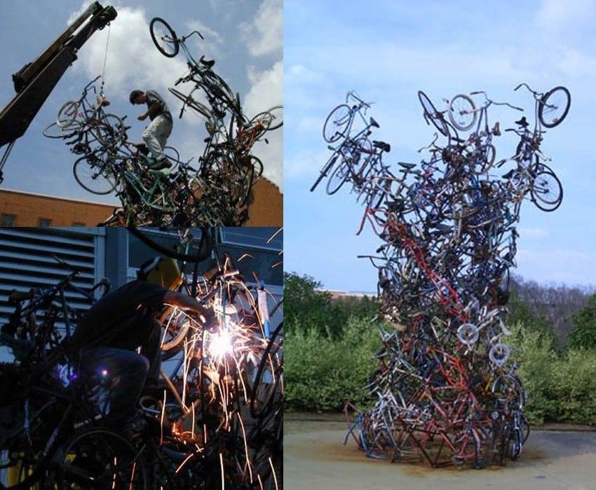Upcycling Art Fennell Tornado