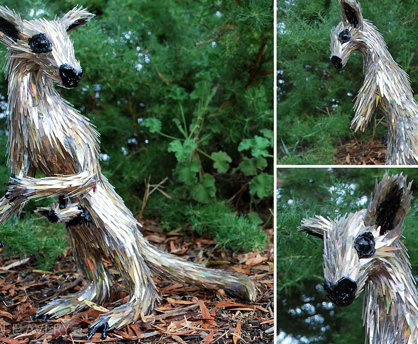 Upcycling Artwork Sean Kangaroo