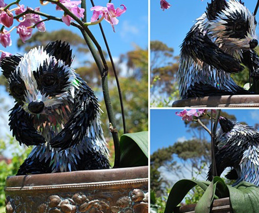 Upcycling Art Sean Panda
