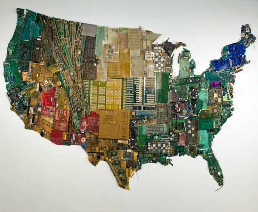 Upcycling Art Susan Map