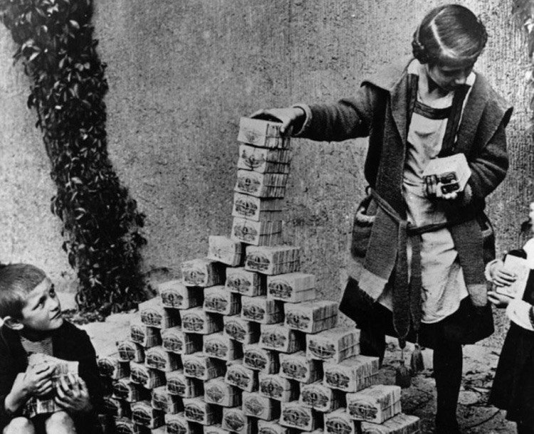 Underrated Iconic Photos German Hyperinflation