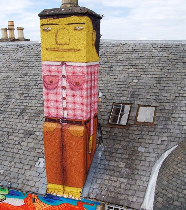 Os Gêmeos Chimney