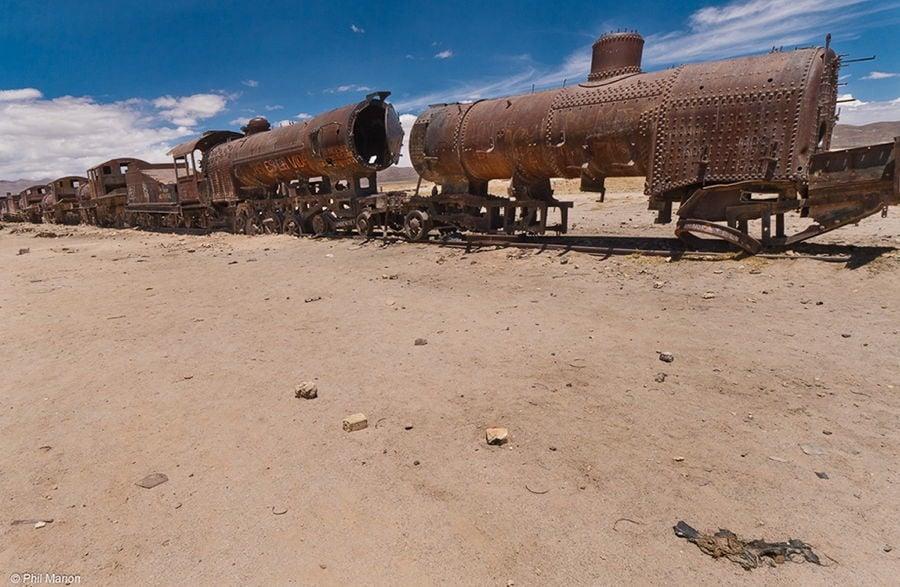 Creepy Trains
