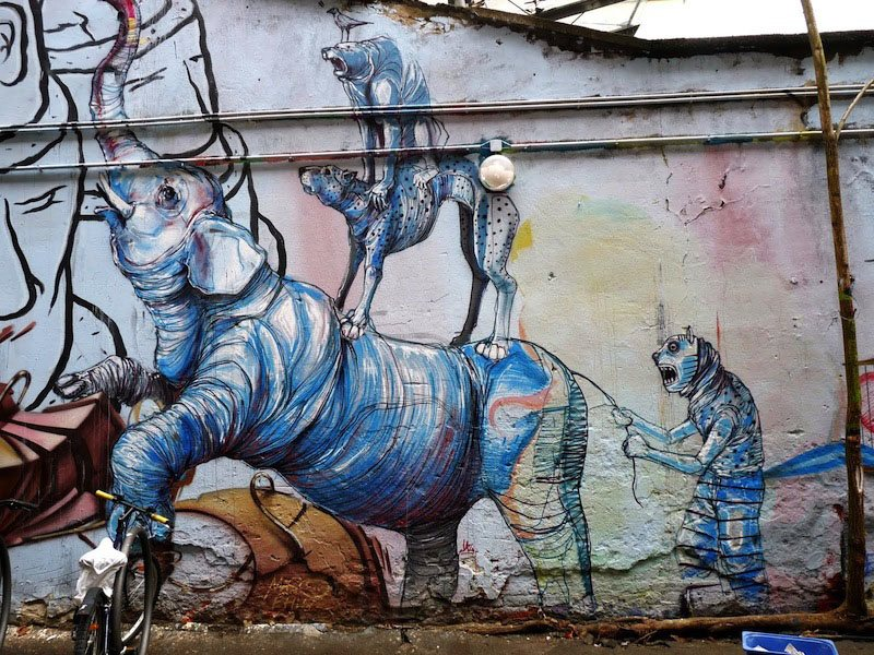 Berlin Art Animals