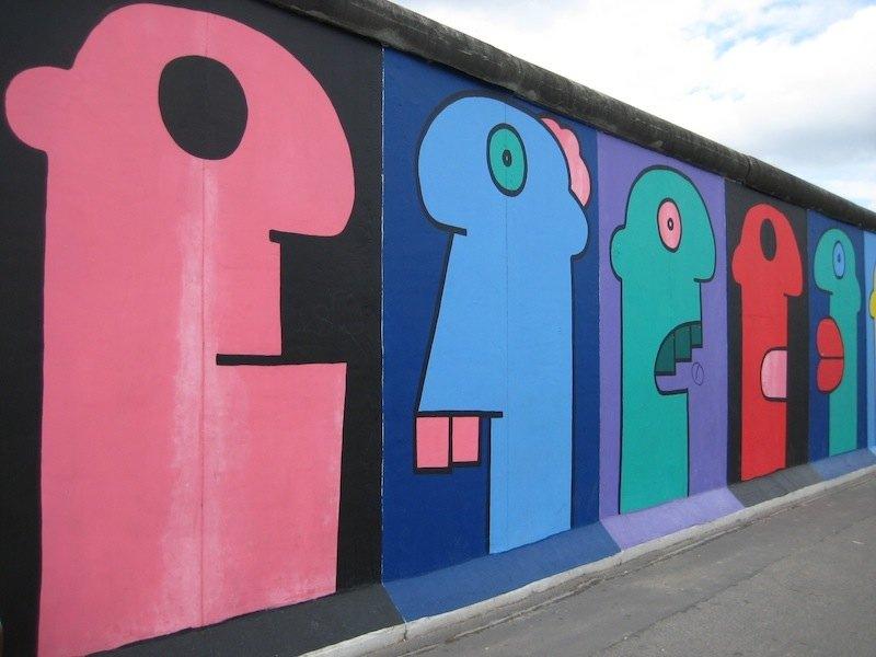 Berlin Wall Art the astounding artwork of the berlin wall
