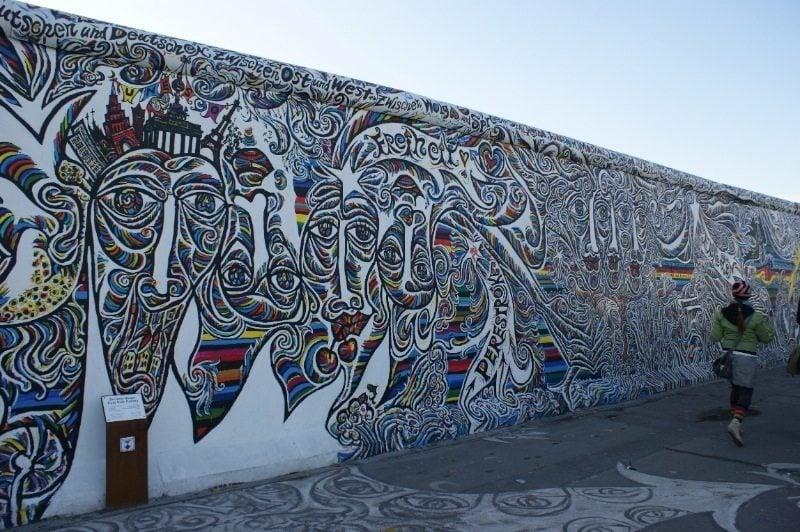 Berlin Art Multicolored Faces