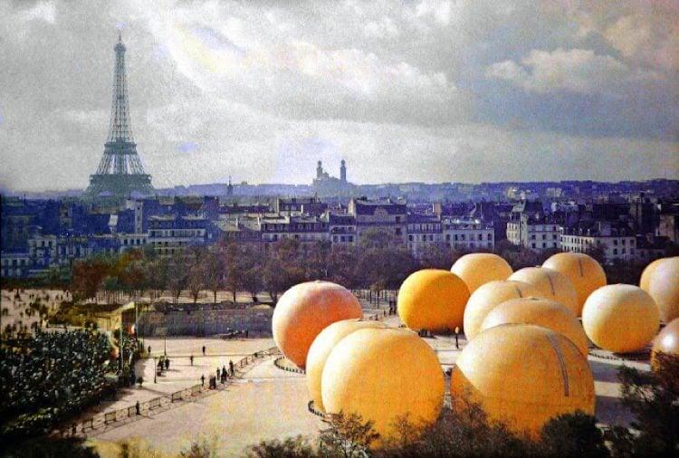 Early 20th Century Paris Jardin