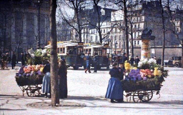 Early 20th Century Paris Madeleine