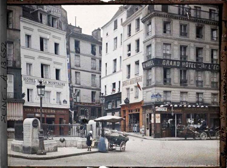 Early 20th Century Paris l'Ecole Polytechnique