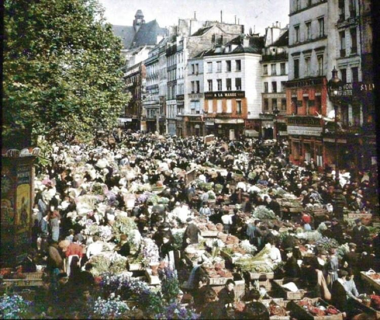 Early 20th Century Paris Rambuteau