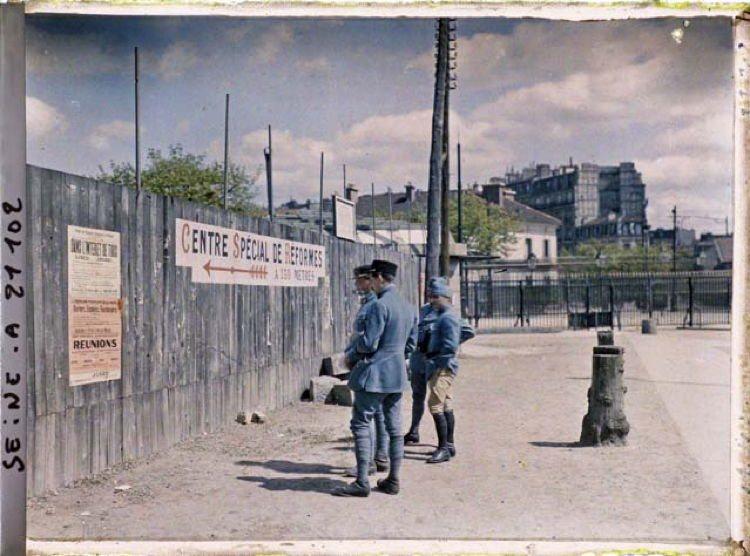 Early 20th Century Paris Saint Cloud