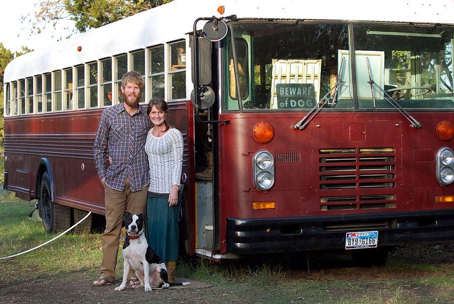 Bluebird Bus House