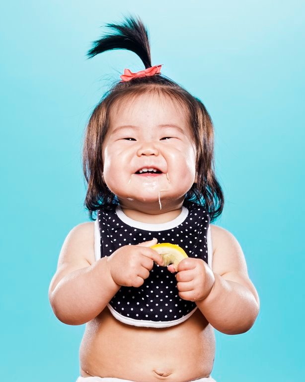 A Delightful Photo Gallery Captures Kids Trying Lemons