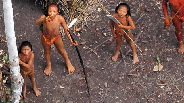 Incredible Footage Of One Of The World's Last Uncontacted Tribes