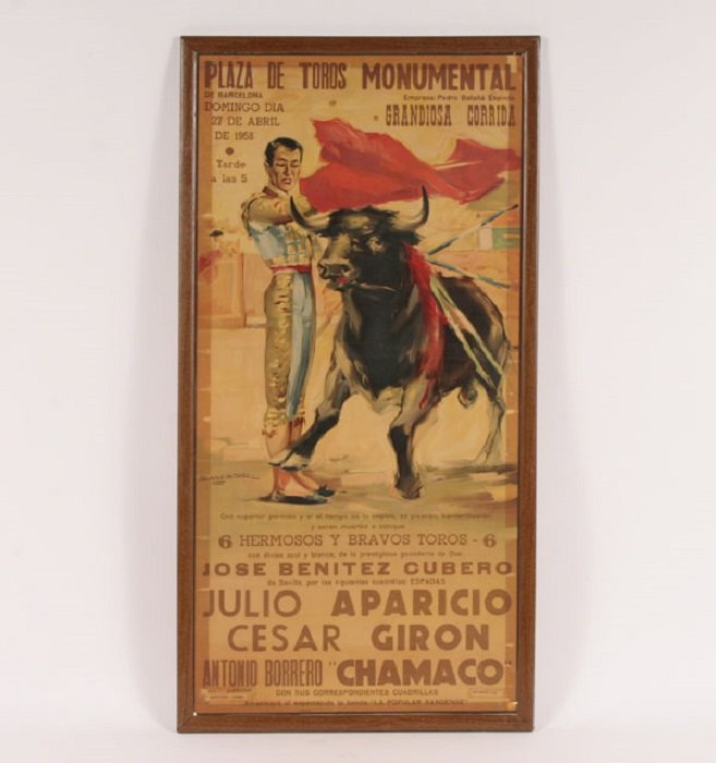 Legacy Of Bullfighting Posters