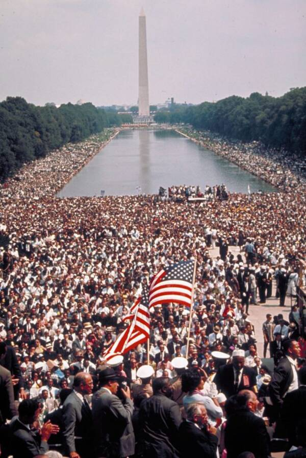 March On Washington Crowd