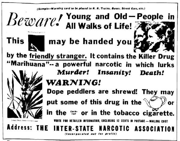 Marijuana Propaganda Beware