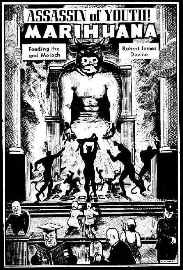 Marijuana Propaganda Feeding God