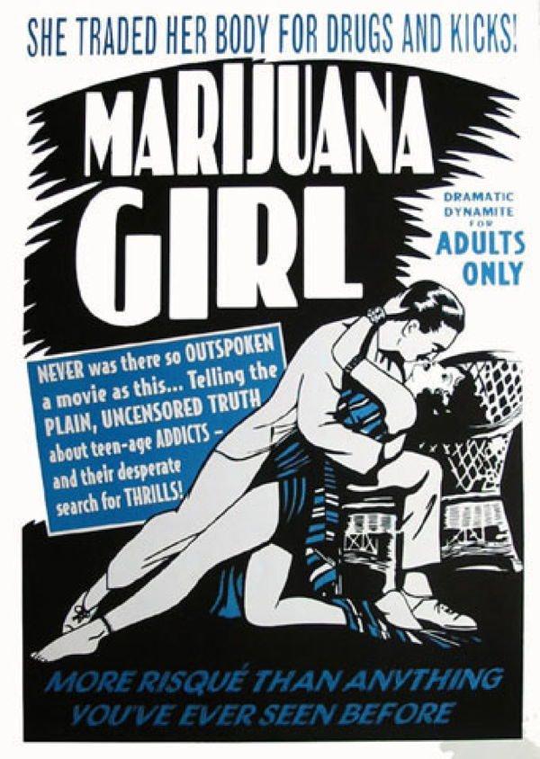 Marijuana Propaganda Girl