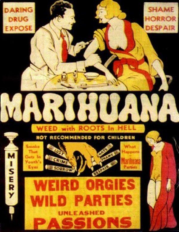 Marijuana Propaganda Weird Orgies