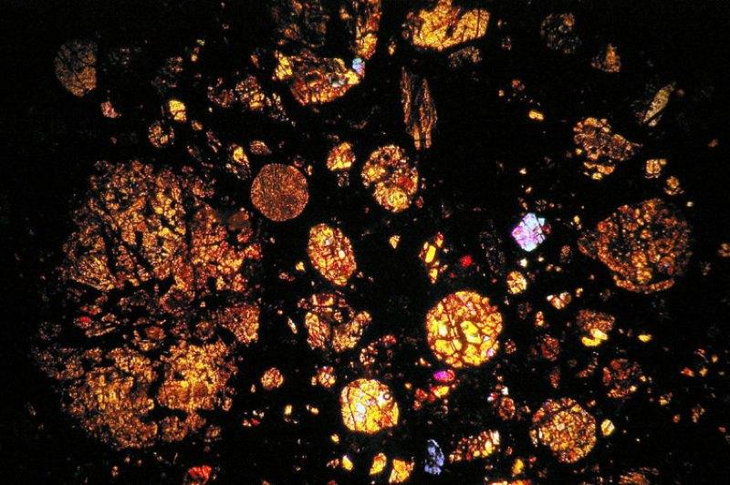 Meteorites Amber