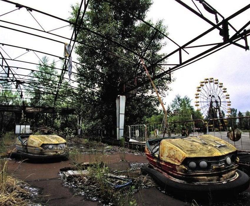 Modern Ruins Pripyat Park