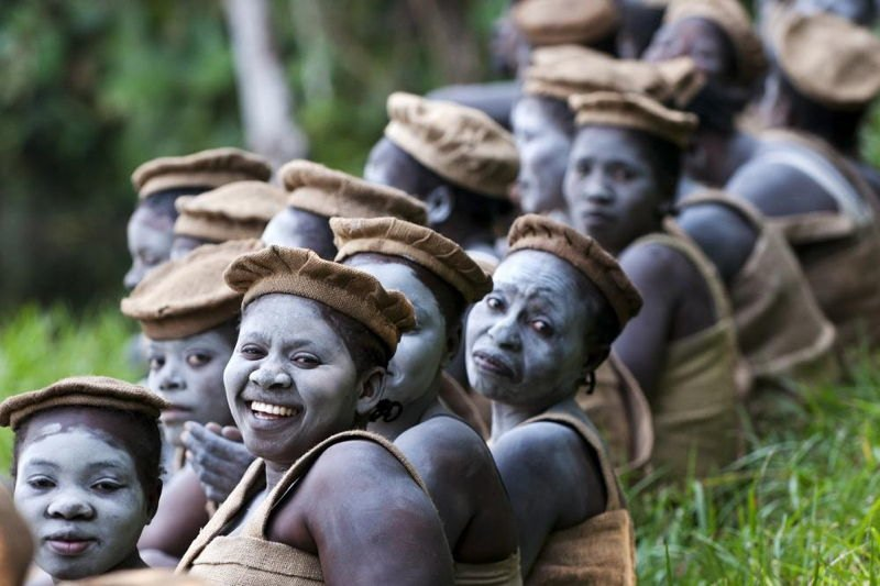 National Geographic Contest Congo Women