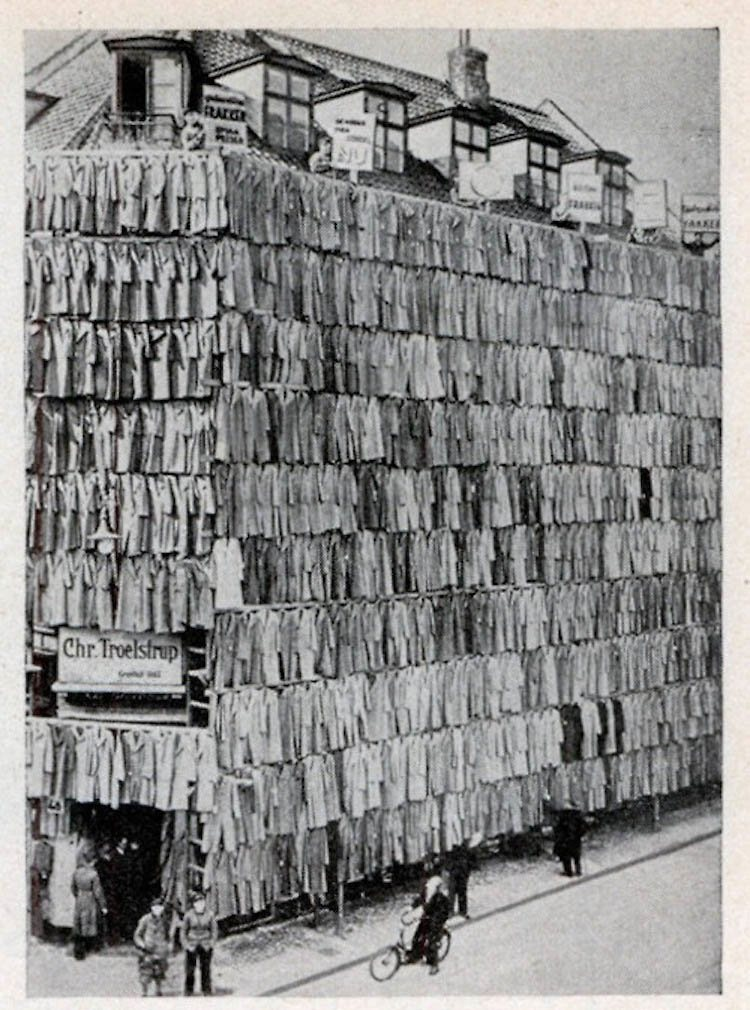 Coats Hanging