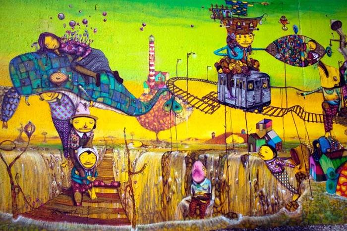 Lime Mural