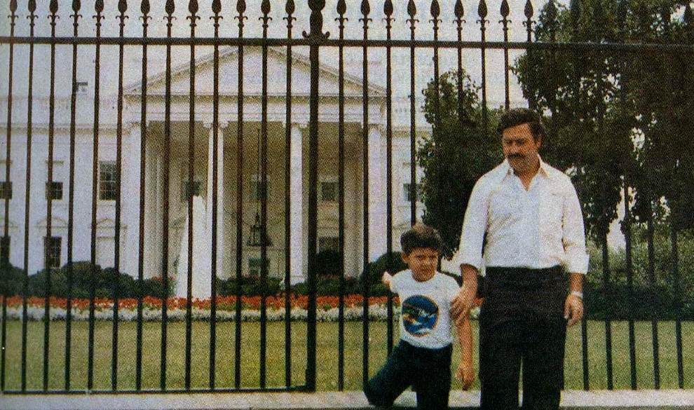 Pablo Escobar At The White House