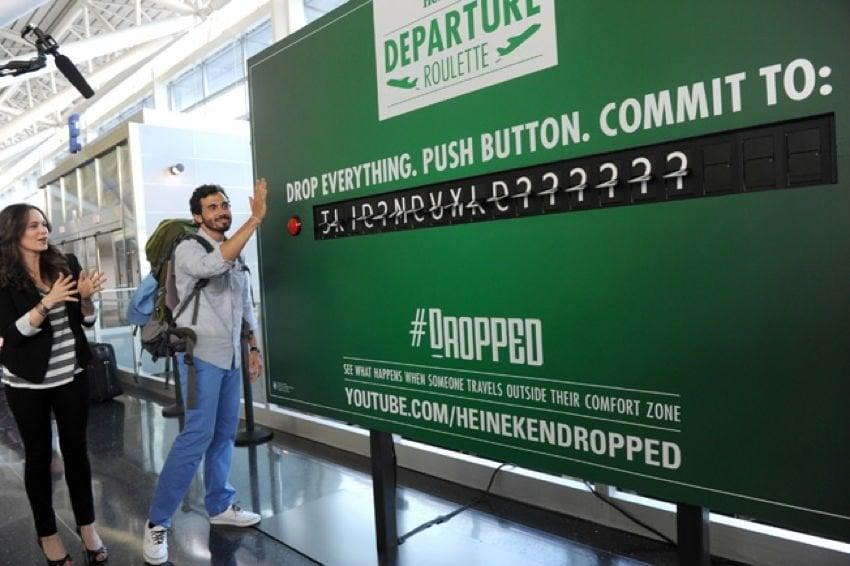 Bizarre PR Departure Board