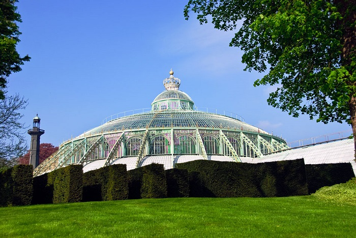 Royal Greenhouses of Laeken Tower View