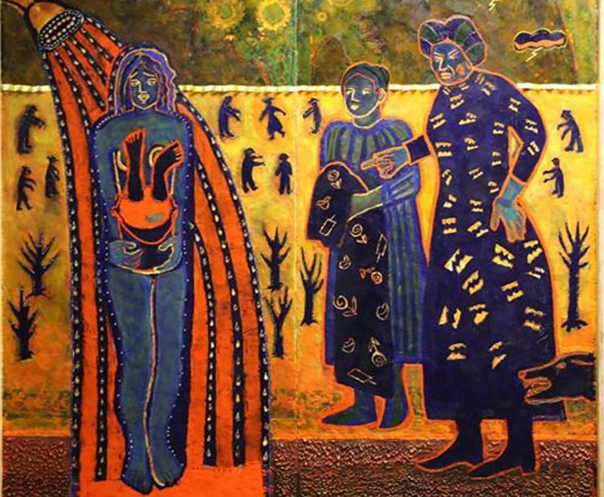 Suffrage Movement Exhibition Piece 3