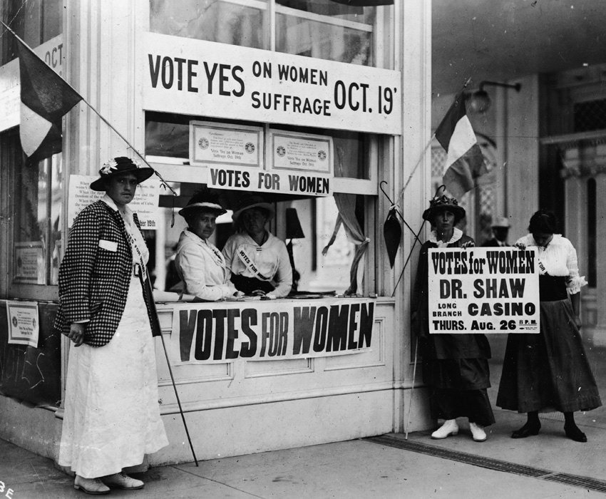Suffrage Movement Art Womens Votes