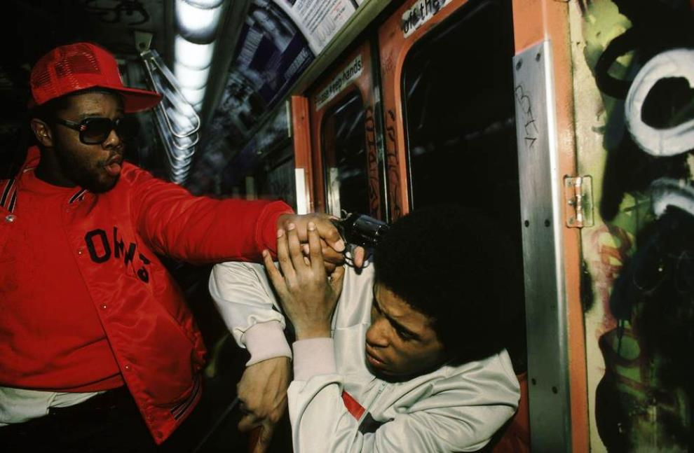 Undercover Arrest New York Subway 1980