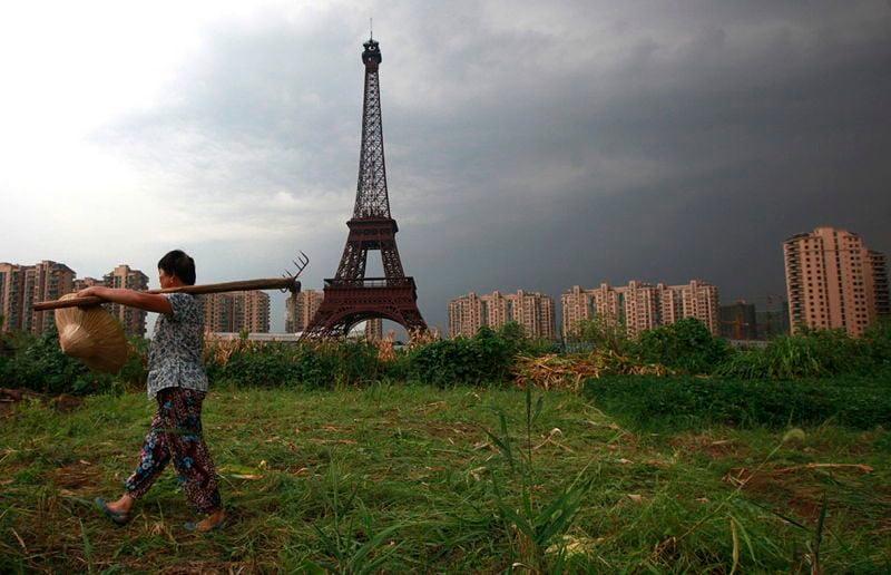 21st Century China Eiffel Tower