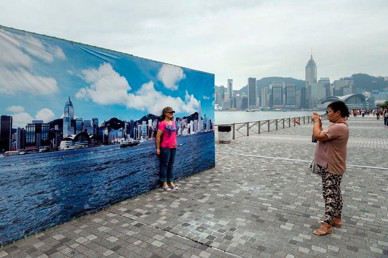 21st Century China Skyline