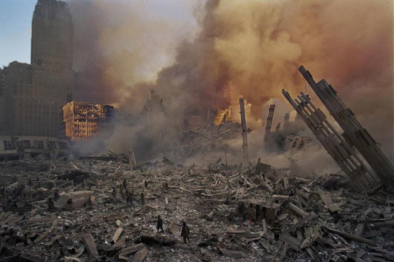 9/11 Photography Rubble