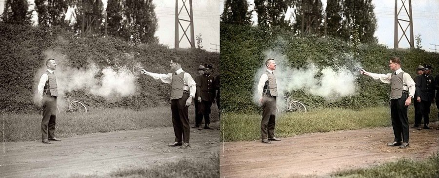 History In Color Bullet Proof