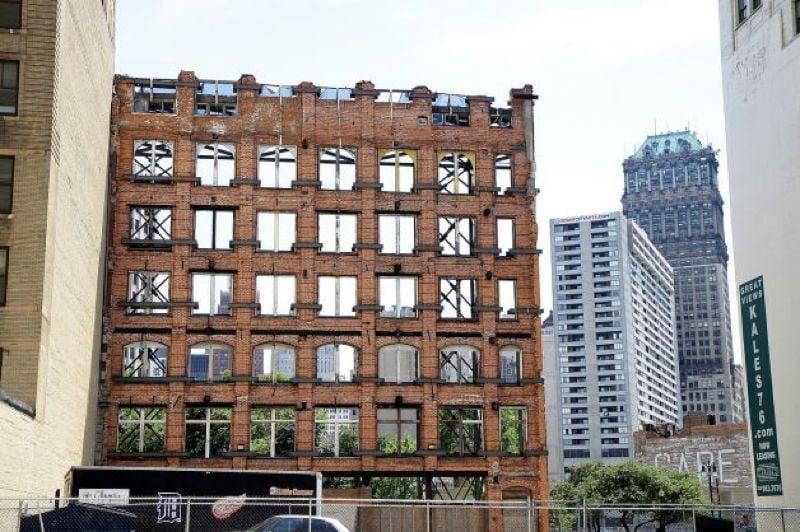 Abandoned Detroit Facade