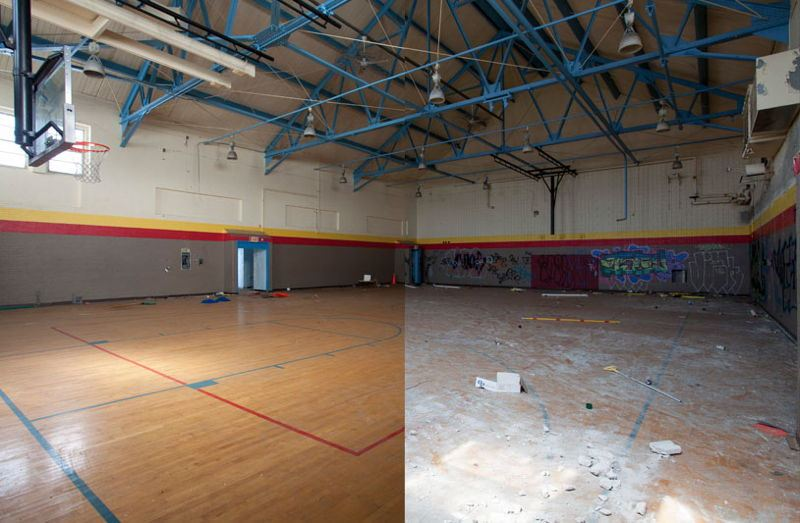Abandoned Detroit Gym