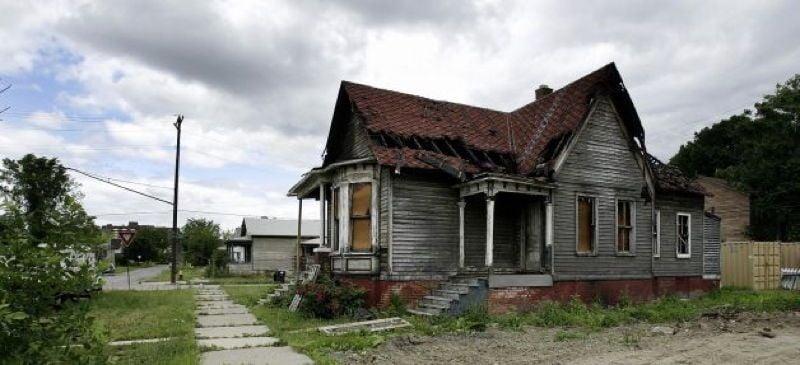 Abandoned Detroit Home